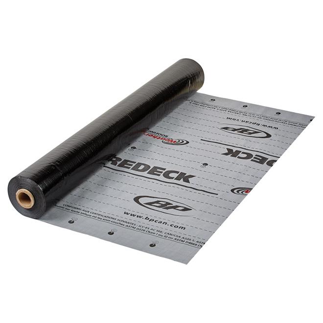 Membrane de sous-protection synthétique, polypropylène, 4' x 250'