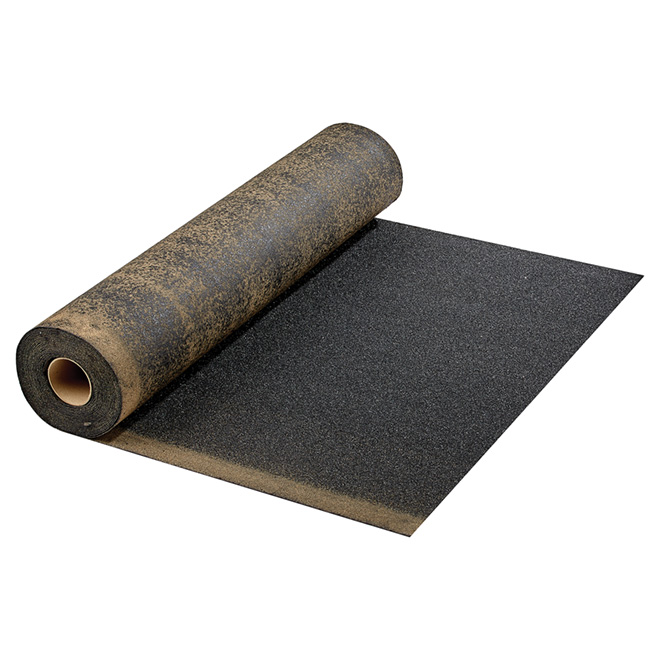 Slate Surface Roll Roofing - 3' x 36' - 100 sq. ft. - Black