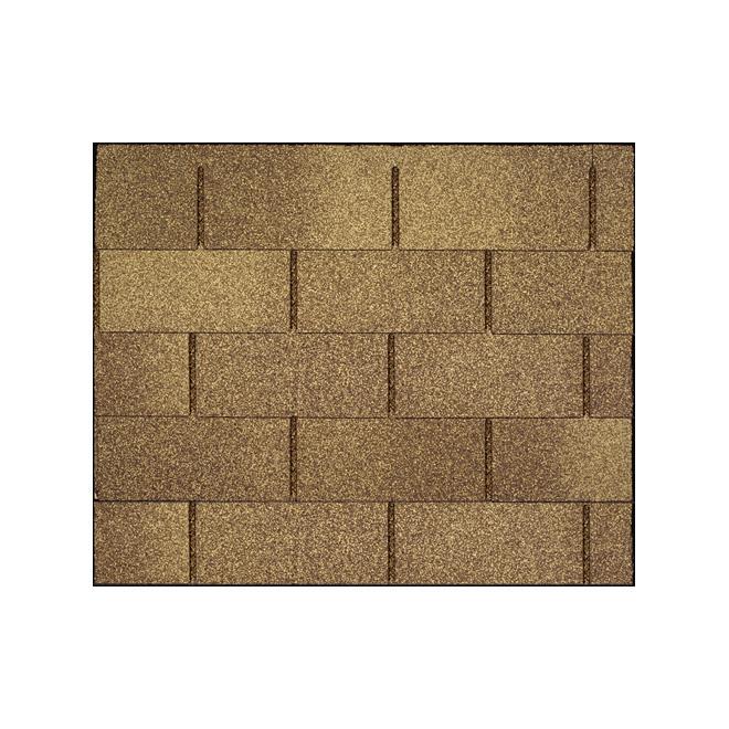 Roofing Shingle Dakota - 32.3 sq.ft. - Amber