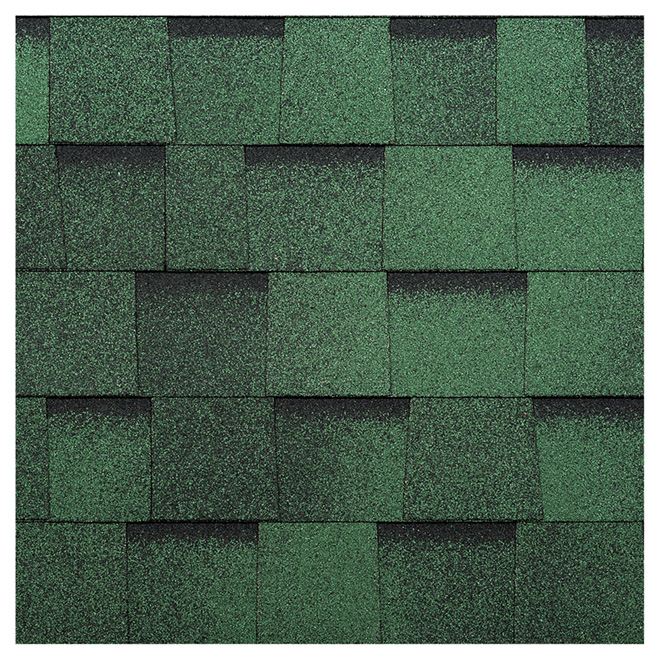 Bardeau de toiture, « Everest 42 », 32,9 pi², vert jade