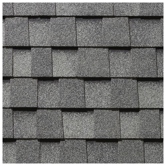Bardeau de toiture Mystique 42 de Building Products of Canada, 32,9 pi², gris ardoise