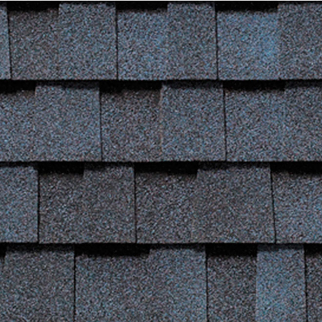 Mystique 42 Roofing Shingle - 32.9 sq. ft - Seychelles Blue