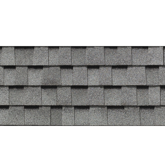 Roofing Shingle « Mystique 42 » - 32.9 sq.ft. - Silver Grey