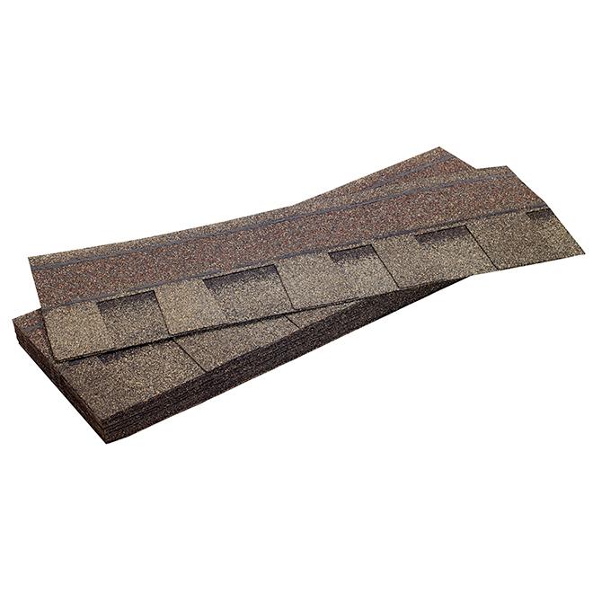 Bardeau de toiture Mystique 42, aspahalte, 32,9 pi², galet