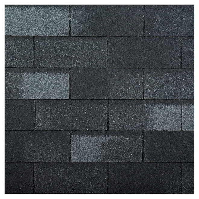"""Yukon SB"" Shingle - Fibreglass - Cobalt Black - 21/PK"