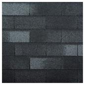 Bardeau «Yukon SB», fibre de verre, noir cobalt, 21/pqt