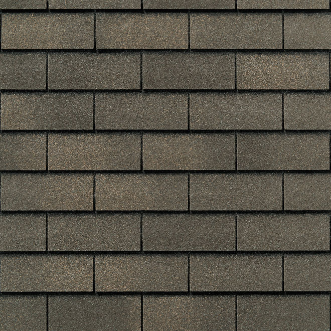 Roofing Shingle « Yukon SB » - 32.9 sq.ft - Fossil Wood