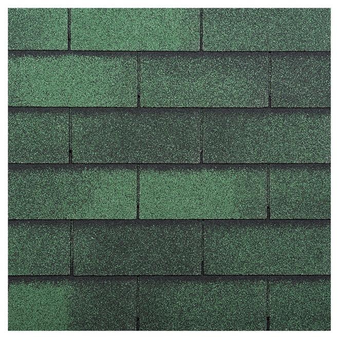 Roofing Shingle « Yukon SB » - 32.9 sq.ft - Green Jade