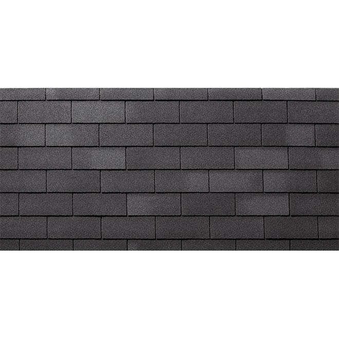 Roofing Shingle « Yukon SB » - 32.9 sq.ft - Slate Black