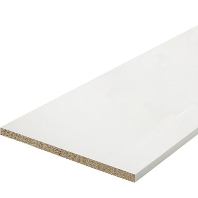 """Melamine Shelf - White - 15 ¾"""" x 96"""""""