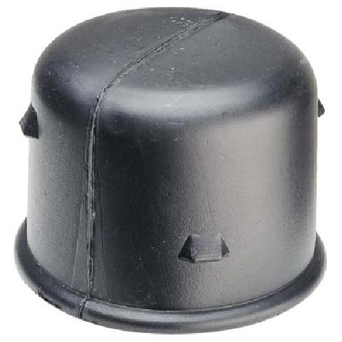 """Capuchon de drain Soleno en polyéthylène, intérieur, 4"""", noir"""
