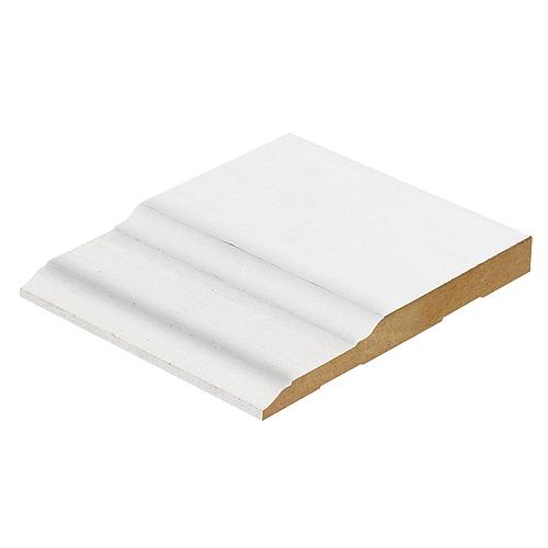 Moulding - Primed MDF Baseboard | RONA