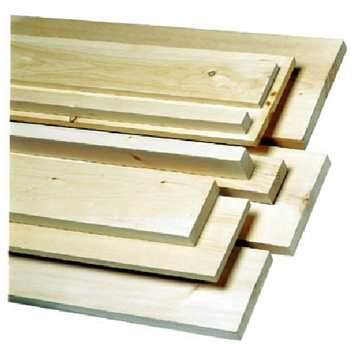 White Pine Board S4S 5/4 in x 4 in x 6 ft - Natural