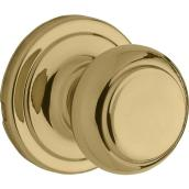 Weiser Passage Knob - Troy - Bright Brass