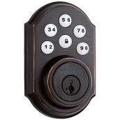 Weiser SmartCode Electronic Lock - Venetian Bronze