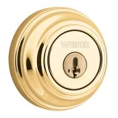 """Collection Series"" Deadbolt - Bright Brass"