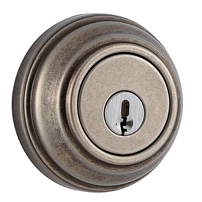 """""""Collection Series"""" Deadbolt - Rustic Pewter"""