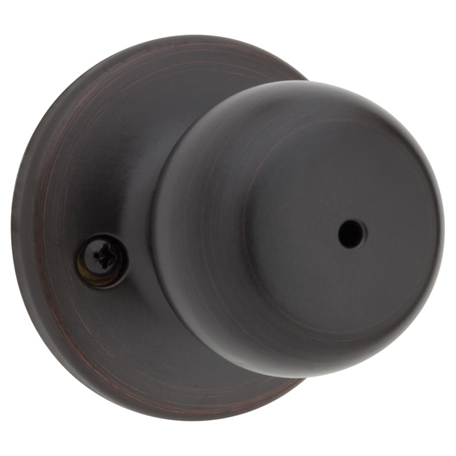 "Privacy Knob - ""Fairfax"" - Venetian Bronze"