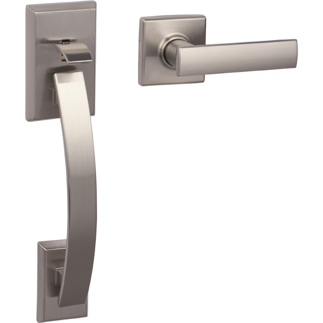 Tavaris Entrance Gripset - Satin Nickel