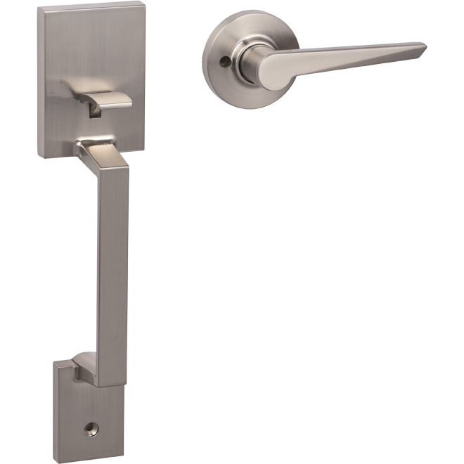 Amador Entrance Gripset - Satin Nickel