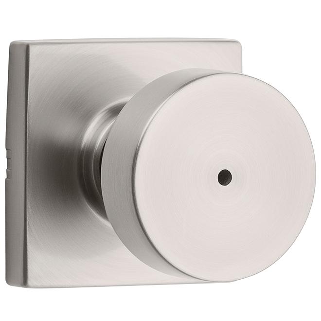 Weiser(R) Privacy Knob - Cambie - Zinc - Satin Nickel