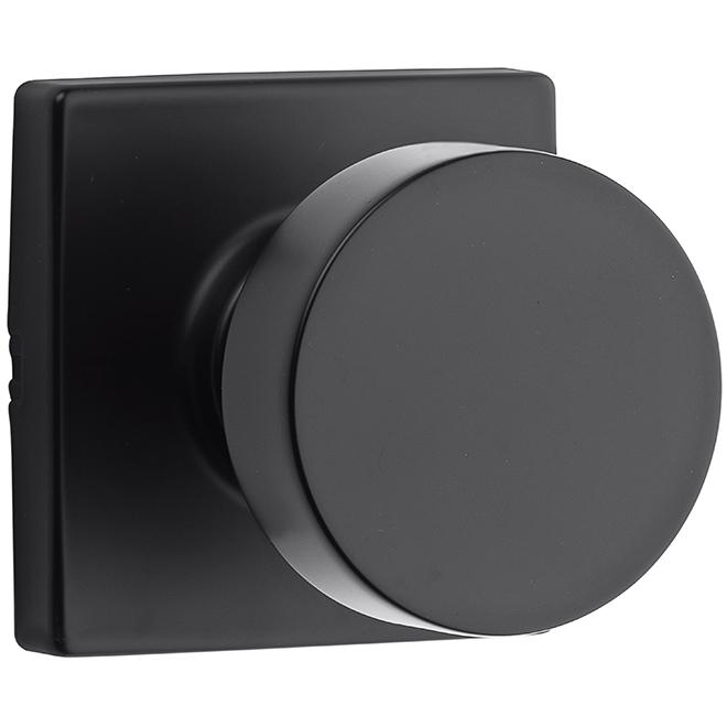 Weiser(R) Passage Knob - Cambie - Zinc - Black Iron