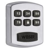 Weiser Electronic Deadbolt Powerbolt 1 - Satin Chrome