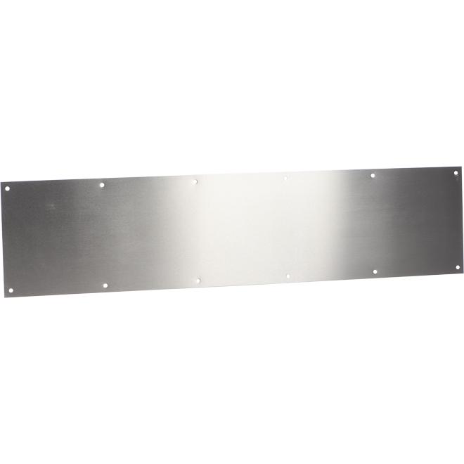 "Metal Kick Plate - 8"" X 34"" - Satin Stainless Steel"