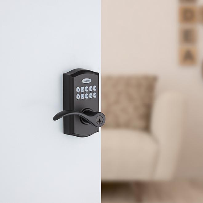 Bec de canne électronique Smartcode, noir fer