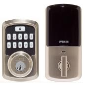 Aura Smart Lock - Satin Nickel
