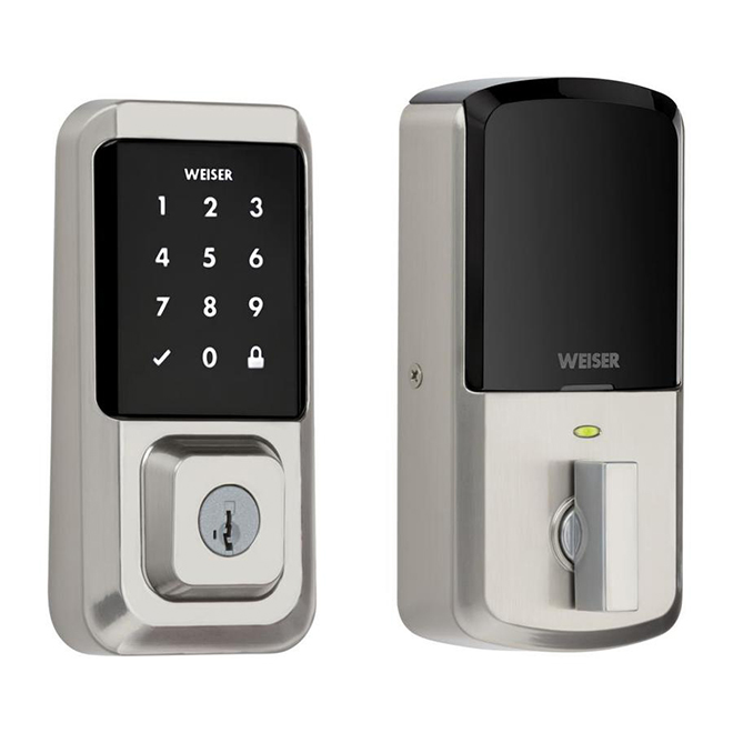 Halo Wi-Fi Touchscreen Smart Lock Electronic - Satin Nickel