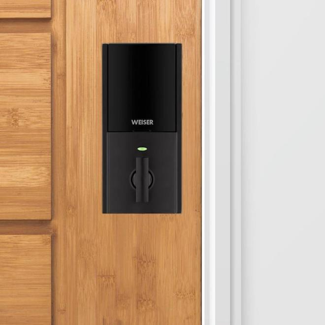 Weiser Halo Fingerprint Smart Lock - 3.56-in - Matte Black