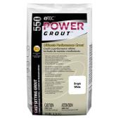 Power Grout Fast-Setting Grout - 10 lbs - Bright White