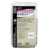 Coulis à prise rapide Power Grout, 10 lb, nuage argenté