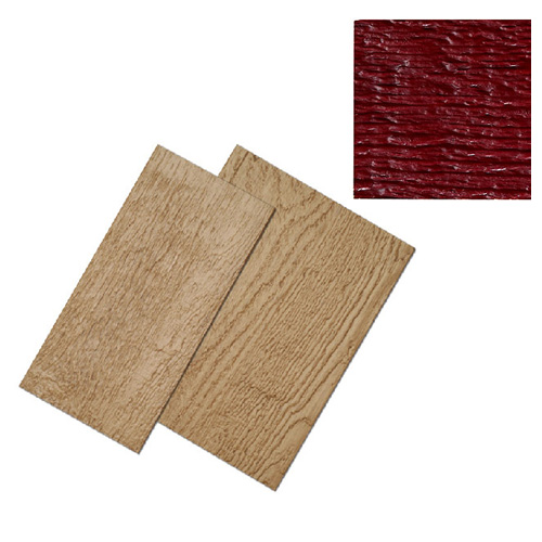 "Country Red ""Ced' R-Vue"" Prefinished Siding 9"" x 12'"