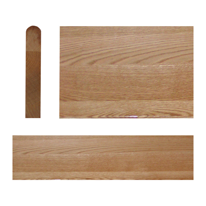 "Select Red Oak Stair Tread - 42"" - Natural"