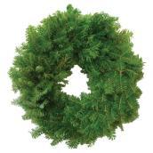 Les Produits Valfei Natural Balsam Fir Wreath - 12-in - Green
