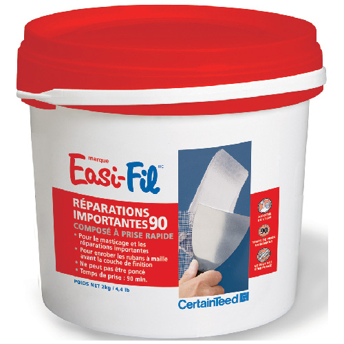 Ciment à joints Heavy Repair 90 Easi-Fil, blanc, 2 kg, prémélangé