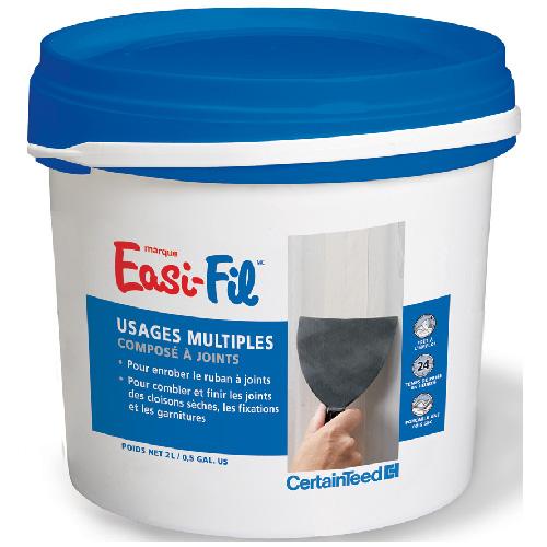 Ciment à joints Easi-Fil, tout usage, 2 L, blanc