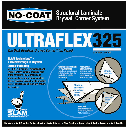 "Flexible Drywall Corner 3 1/4"" x 100'"