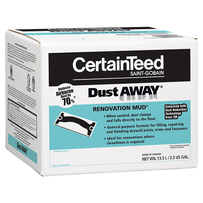 Dust Away Drywall Compound 13.5 L