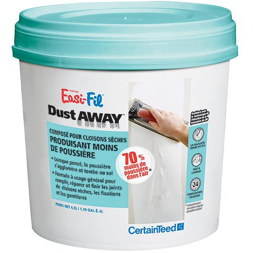 Ciment à joints Easi-Fil Dust Away, prémélangé, 4,5 L