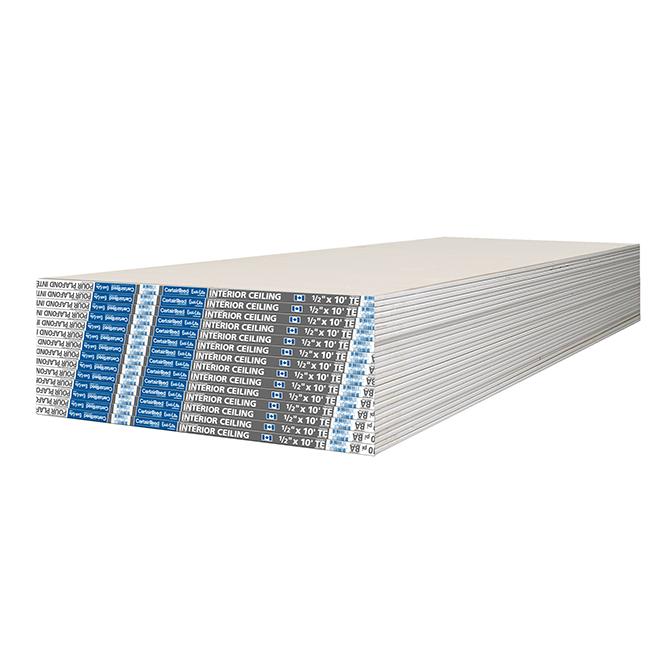 """Gypse d'intérieur pour plafond Easi-Lite - 1/2"""" x 4' x 10'"""