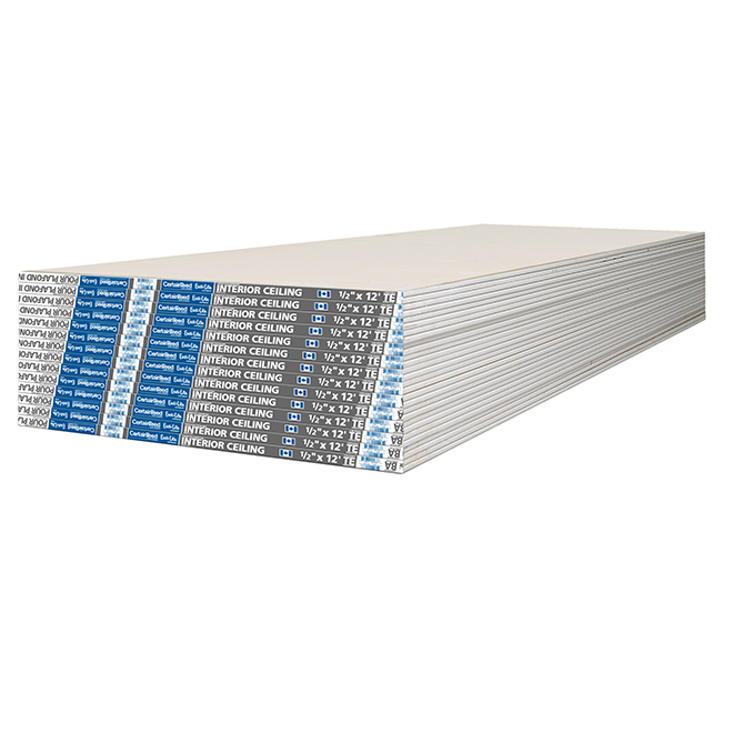 "Easi-Lite Interior Ceiling Drywall - 1/2"" x 4' x 12'"