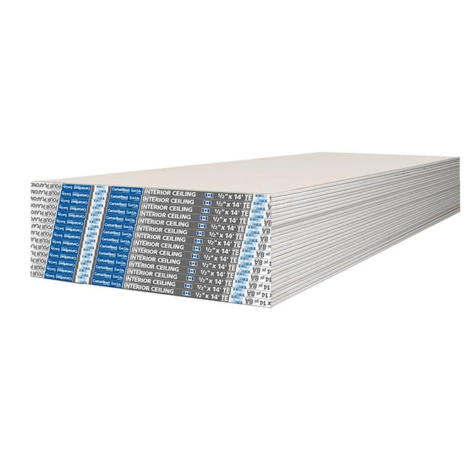 "Easi-Lite Interior Ceiling Drywall - 1/2"" x 4' x 14'"