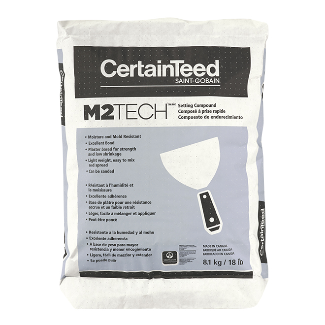 M2Tech Setting Compound - Moisture and Mold Resistant - 18 lb