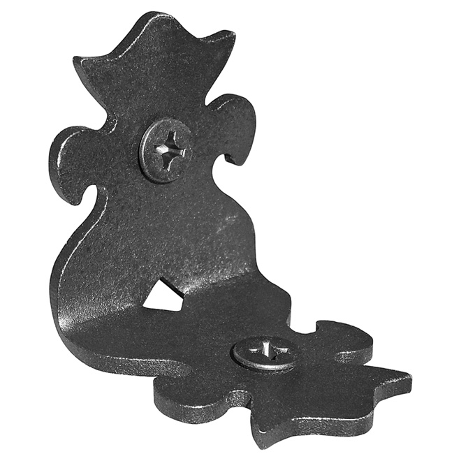 """Pack of 12Rafter Clips - 2"""" - Black"""