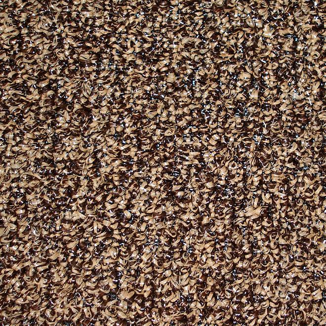 """12-ft """"Belvedere"""" Brown Grass Carpet"""