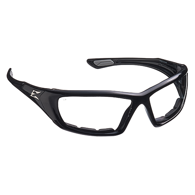 Safety Glasses Robson Clear - Vapor Shield - Black