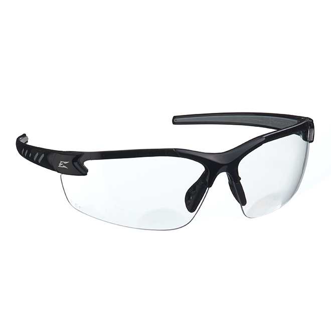 Lunette de sécurité Zorge G2, grossissement 2,0, noir/clair